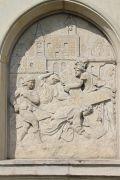 XIV. Station: Jesus fällt zum ersten Mal unter dem Kreuz.