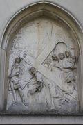 XVII. Station: Jesus begegnet den weinenden Frauen.