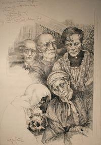 Zeichnung Gerresheim